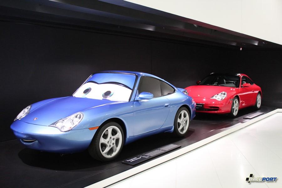 "Porsche 911 ""Sally Carrera"" 320 сильный мульт персонаж"