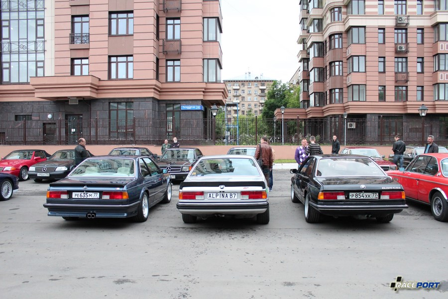 BMW E24 - M635SCi, Alpina B7 Turbo и шестерка 3,5 литра