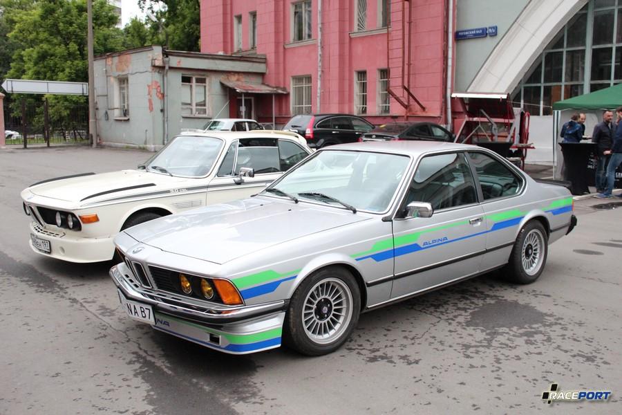 BMW E9 3.0 и Alpina B7 Turbo