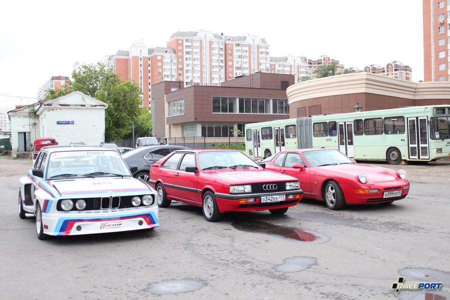 BMW Batmobile, Audi Quattro и Porsche 968