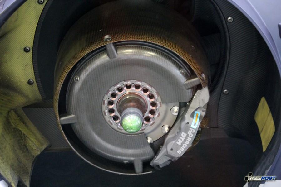 Тормозная система автомобиля DTM 2017