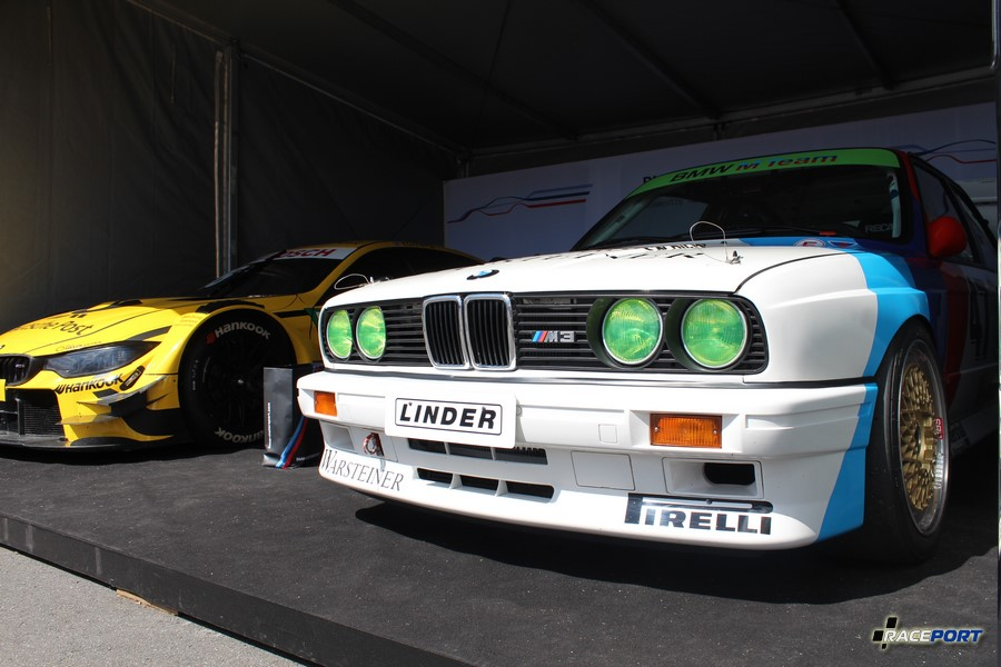 BMW E30 M3 Легенда ДТМ гонок 90х, сейчас это BMW Race Taxi Legends.