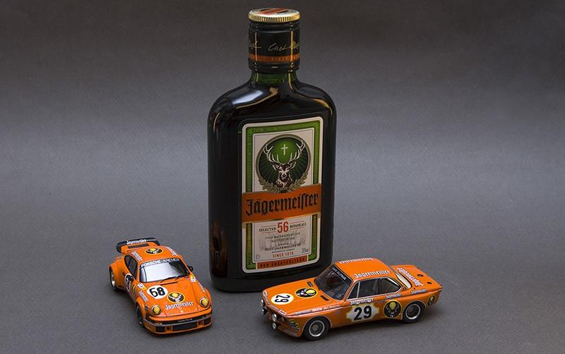 Симфоличное фото - в 70х годах алкогольная компания Jagermeister поддерживала некоторые гоночные команды включая Alpina