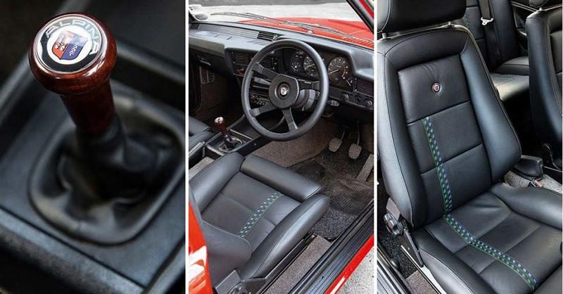 Interior Alpina E21