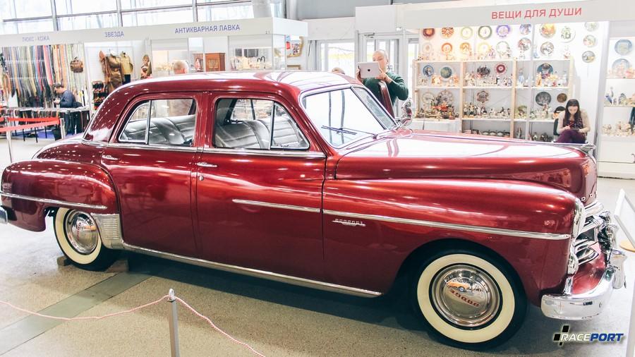 Dodge Coronet De Soto 1950 г.в. 3.8, литра 102 л.с., макс скорость 140 км/ч