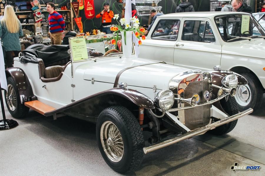 Реплика Mercedes 1929 г. сделана в США в 1980 году