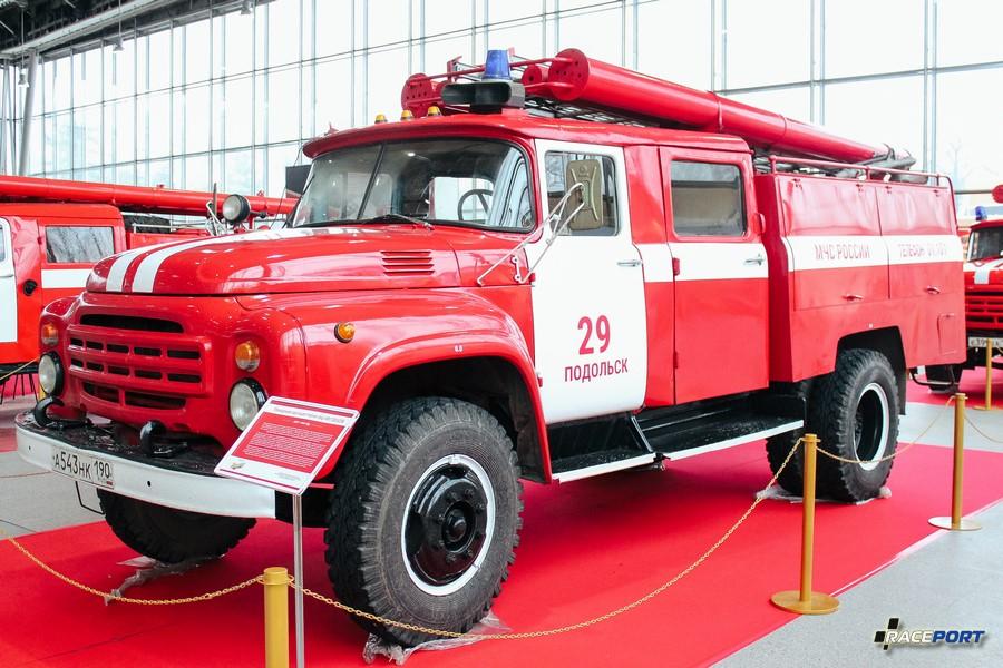 Пожарная автоцистерна АЦ-40 (130) 63В СССР 1993 г.