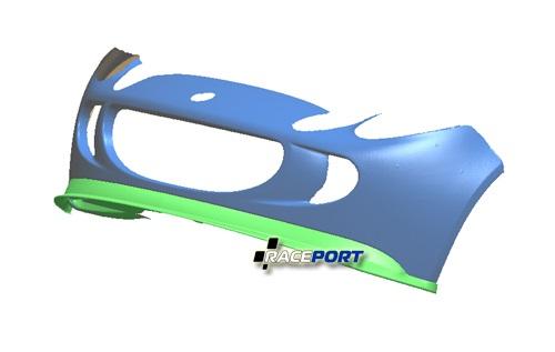 3D кузов уже с макетированной губой