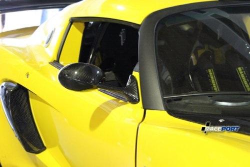 Готовые боковые зеркала из карбона на Лотус