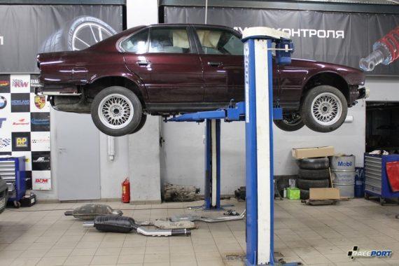 <span>Проект: № 00092</span> BMW 535i E34