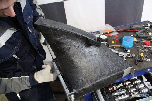 Заборник для BMW 335i