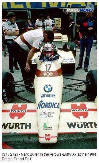 Arrows-BMW A7 1984