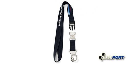 Шнурок для ключей BMW Motorsport, отстегивающийся с брелоком.