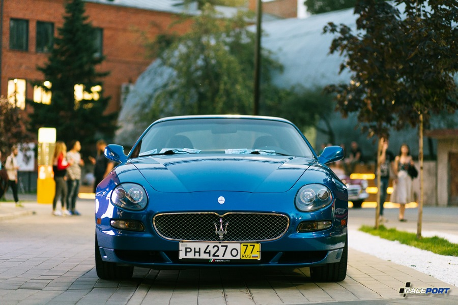 Maserati GranSport с двигателем V8