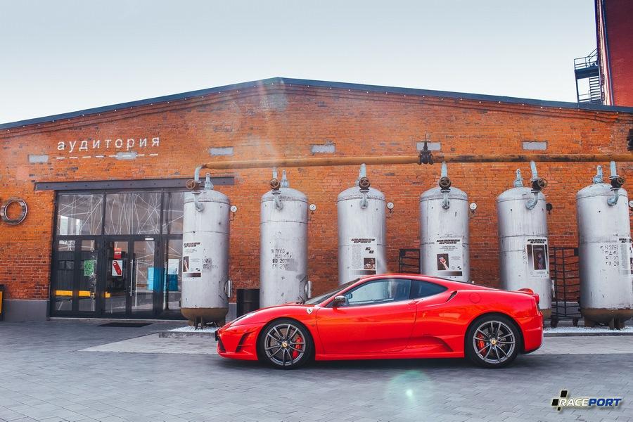 Ferrari F430 Scuderia тоже можно заменить в цеху нашей компании.