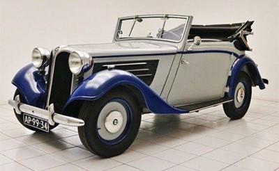 BMW 319 1936 Объем двигателя 1911 куб см, 45 л.с., пробег 381 км (89 500 Евро)