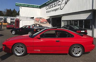 BMW 850CSi 1996 Объем двигателя 5000 куб см, 380 л.с., пробег 61 472 км (82 110 Анг. Фунтов)
