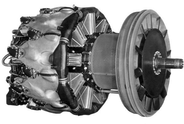 Авиационный двигатель BMW 802 с изменияемыми фазами открытия клапанов