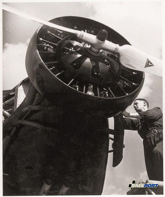 BMW 132 - радиальный двигатель на Junkers Ju 52