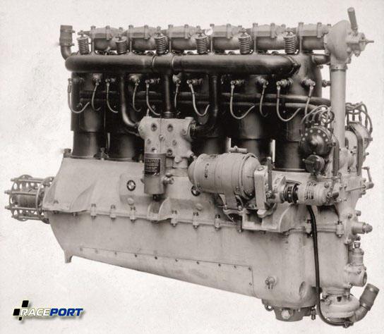 Авиационный двигатель BMW Illa, первый мотор компании, 1917