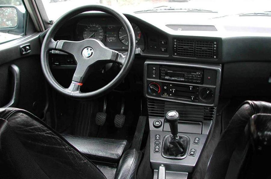 Интерьер BMW 535i E28