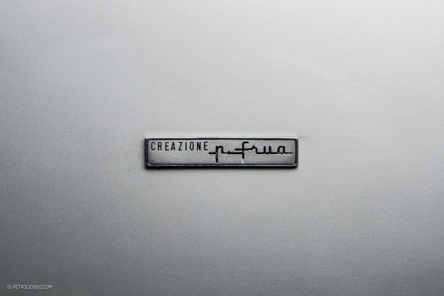 Шильдик итальянской кузовной мастерской Frua