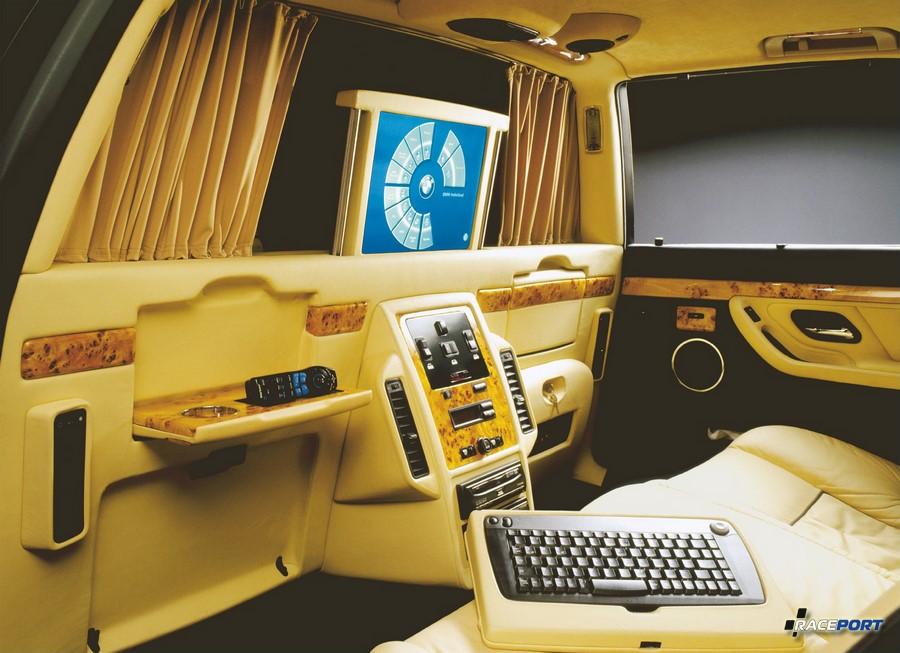 BMW L7 с перегородкой