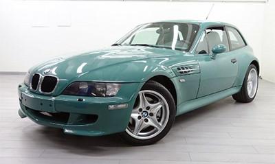 BMW Z3M Coupe Ever green E36/8 Объем двигателя 3201 куб см, 321 л.с. (50 000 Евро)