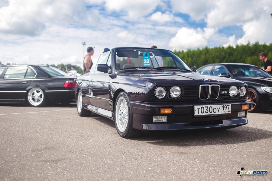 Совершенно потрясающая BMW M3 Cabrio нашего клиента