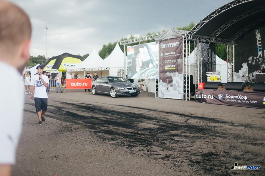 BMW 6 серии разыгрывал организатор среди участников фестиваля