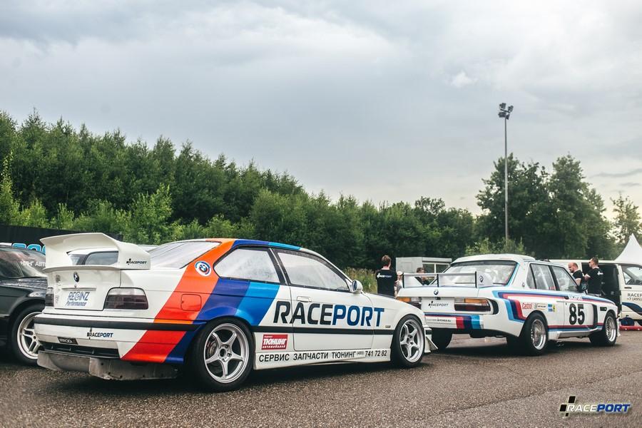 Так выглядел BMW Motorsport на фестивале, не хватает еще 21го кузова упомянутого выше
