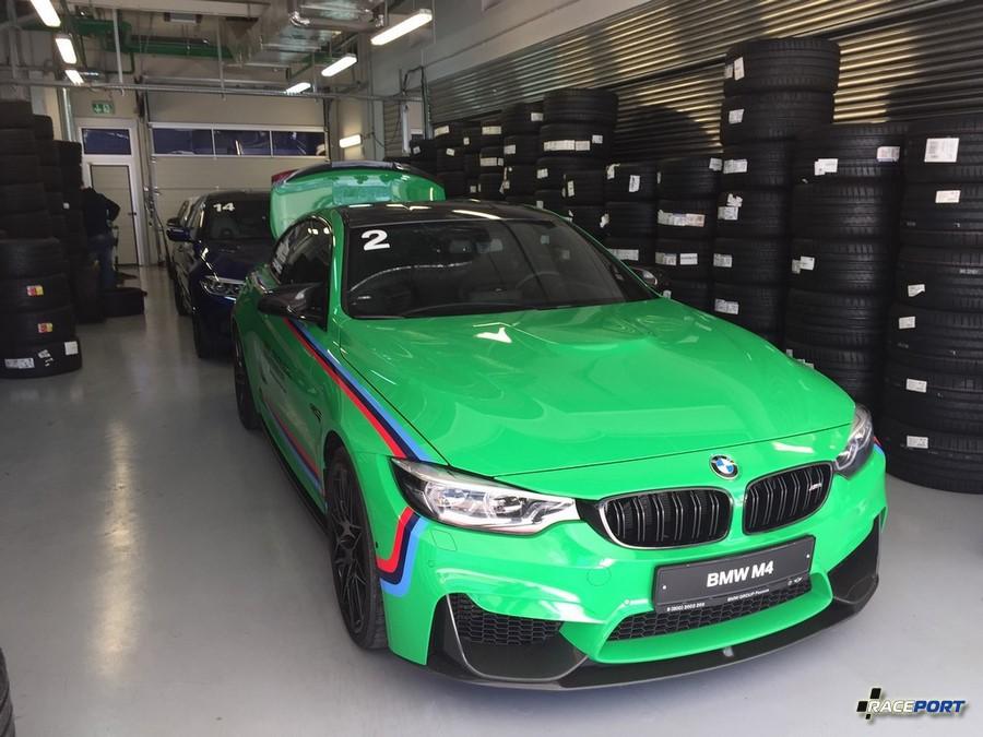 BMW очень основательно заготовило покрышки Michelin
