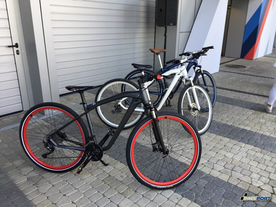 Тест-драйв велосипедов ///M не входил в план организатора :)
