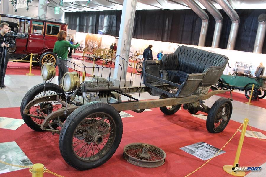 Benz 18/24PS Германия 1912 г.в. Останки были обнаружены в Псковской области в районе города Великие Луки