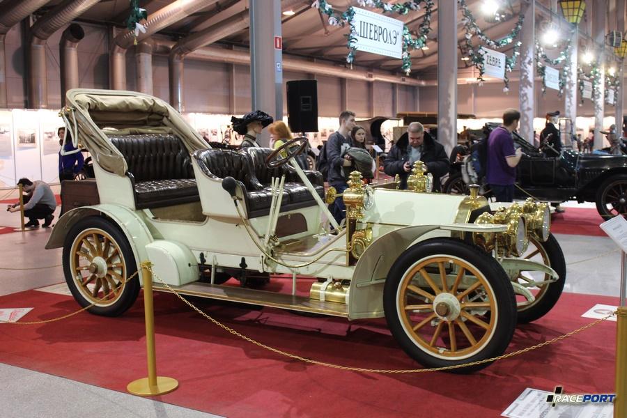Mercedes Simplex 28/32PS Германия 1905 г. Модель выпускалась с 1901-1905 год. Мотор 4 цил., мощность 32 л.с. объем 5,3 л, скорость 60 км/ч