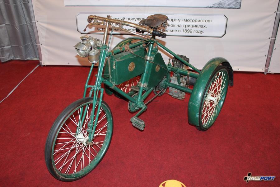 Моторный трицикл Кудель, Германия 1899 г.