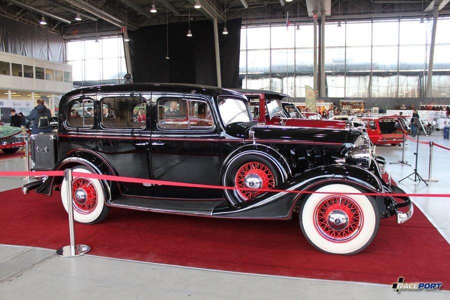 Buick Model 57, США 1933 г. Выпущено 19259 ед. Стоимость в 1933 г. - 1065 $ Рядный 8ми цил. двигатель мощностью 86 л.с. и объемом 3,8 л. Отреставрирован в 2016 г. (За 3 года)