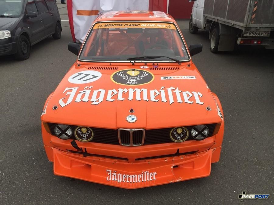 BMW E21 в легендарных цветах Jagermeister с 4х цилиндровым двигателем