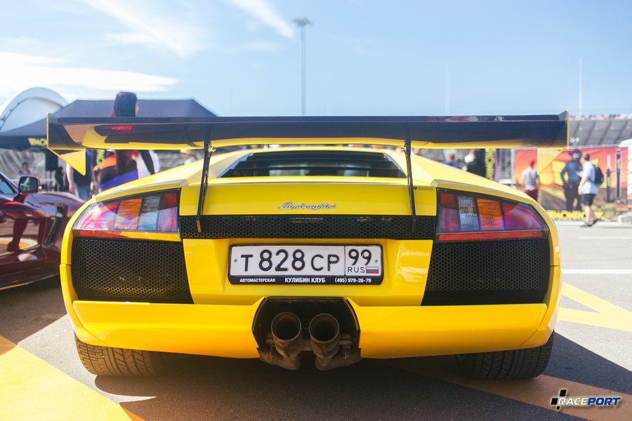 Lamborghini Murcielago с APRовским антикрылом