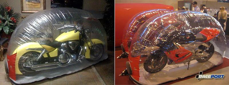 Мотоциклы на хранении