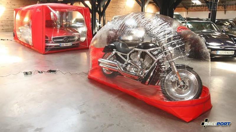 Система хранения каркун для автомобилей и мотоциклов