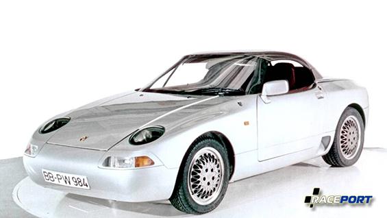 Концепт Porsche 984 с среднемоторной компоновкой.