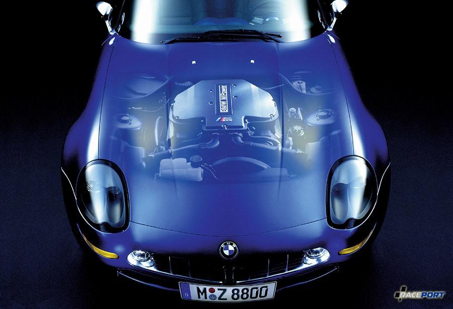 Двигатель V8 S62B50 400Hp