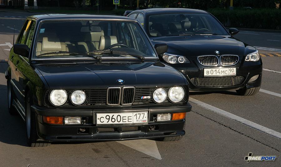 BMW M5 E28 & E60