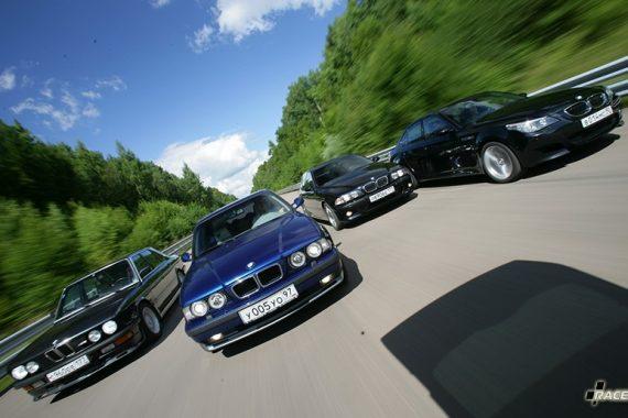 Фотосессия атмосферных BMW M5