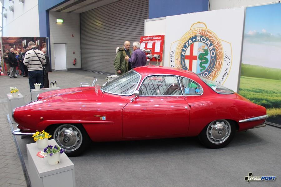 Alfa Romeo Guilietta Sprint Speciale (SS) 1961 г. в. 1,3 л, 100 л. с. при 6500 об/мин, 860 кг