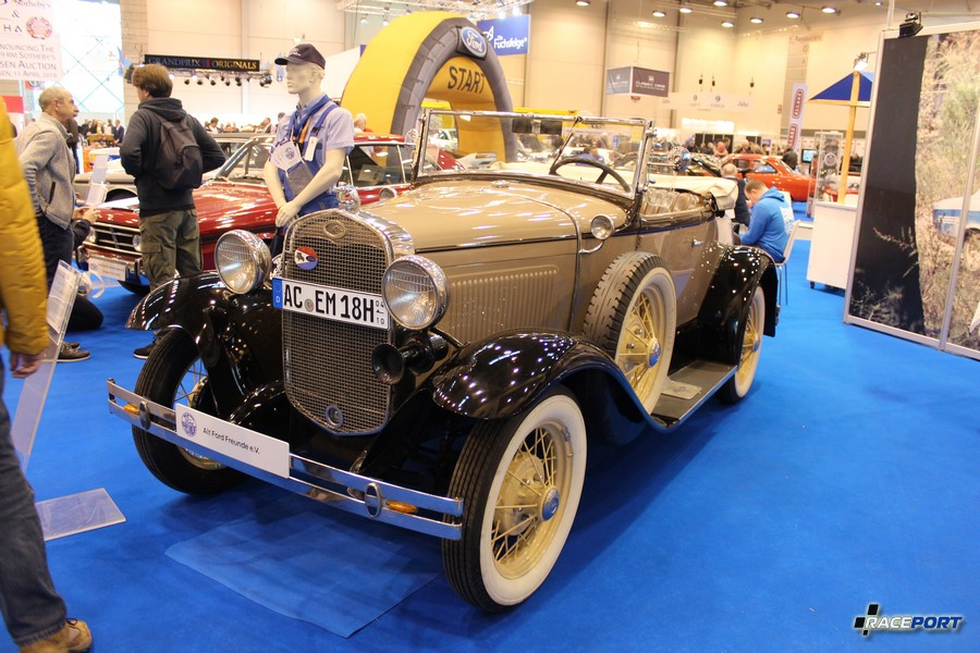 1931 г. в. Ford A-Modell Roadster de Luxe. 4 цил., 3236 куб см, 40 л. с.