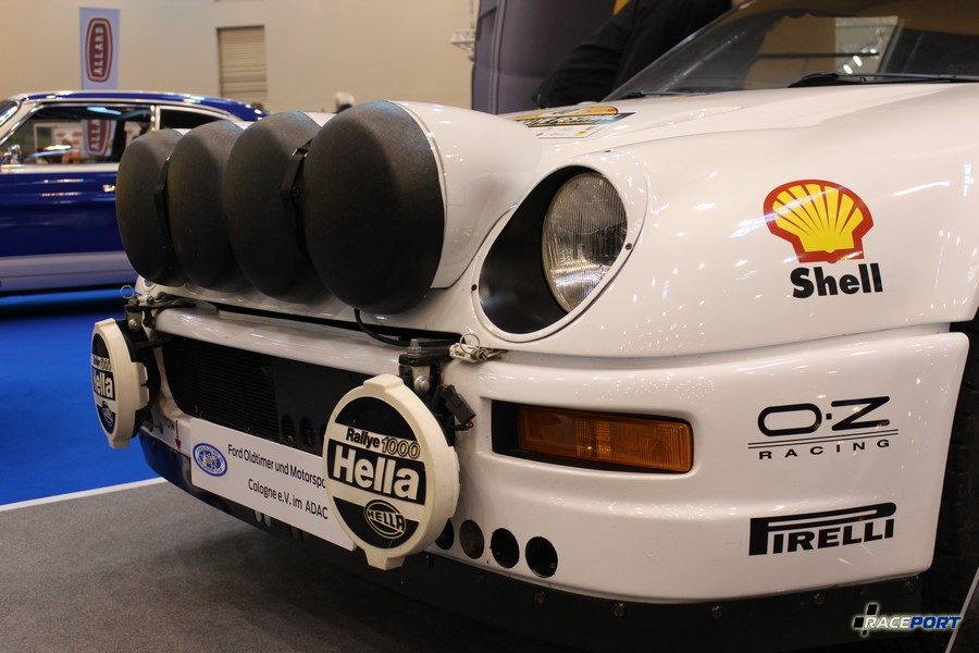 1987 г. в. Ford RS200 Gruppe S-Evolution. 4 цил, 2100 куб см, 485 л. с.