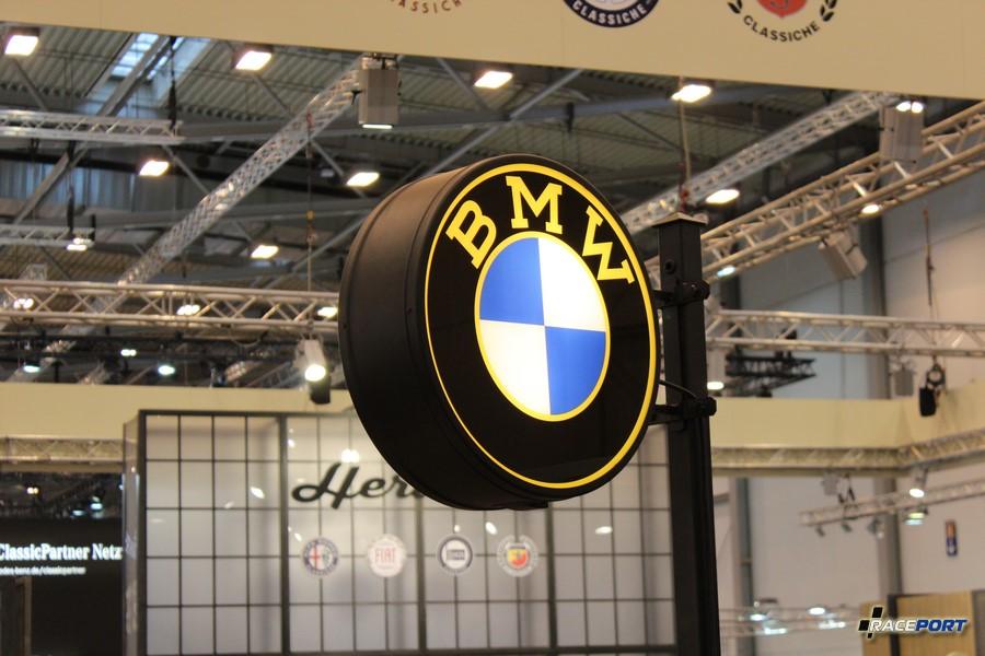 Винтажная стелла BMW