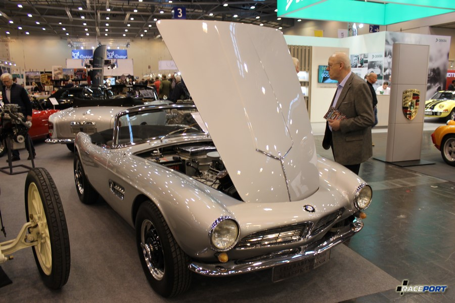 BMW 507 Roadster 1957 г. в. Номер шасси 70 083